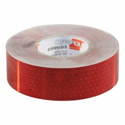Reflecterende tape Rood
