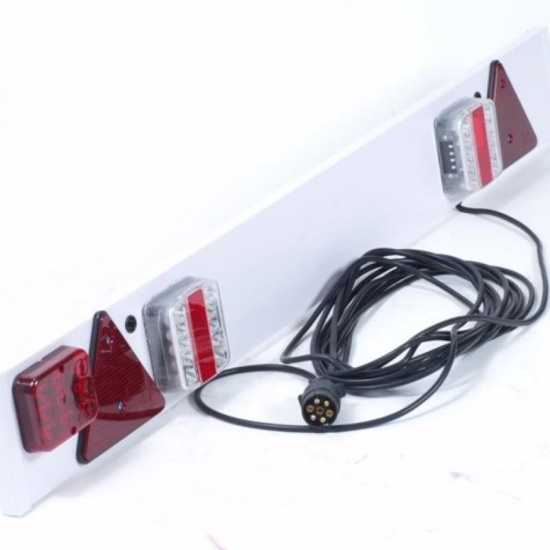 Bestel Kunststof verlichtingsbalk LED voor uw aanhanger   TB ...