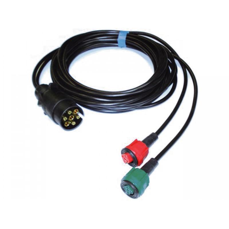 7 Polige Stekker Aansluiten.Kabelboom 5 00 Mtr Radex 7 Polige Stekker Voor Centrale Stekker Aansluiting