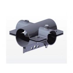 Klemschalen, as-dissel bevestiging 80mm x 70mm of Ø70mm