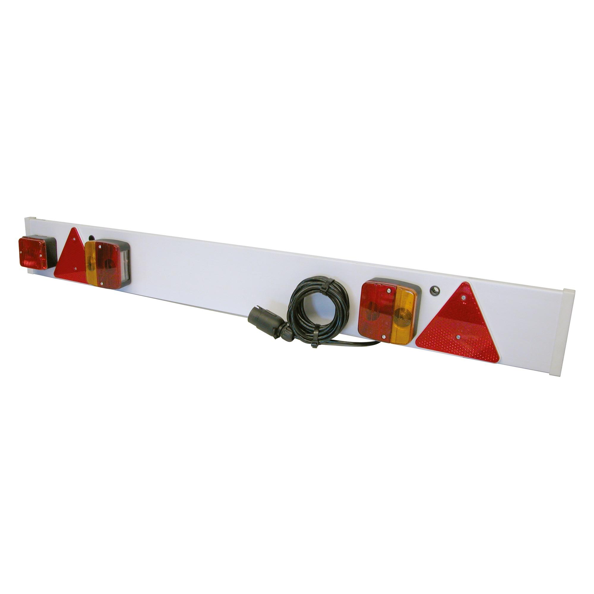 bestel kunststof verlichtingsbalk standaard voor uw aanhanger ajba tb onderdelennl